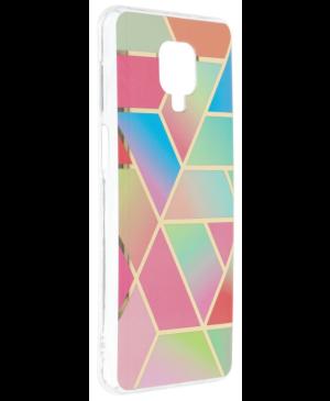 Silikónové puzdro na Xiaomi Redmi Note 9S/9 Pro Forcell MARBLE COSMO vzor 04