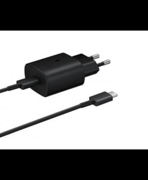 Nabíjačka Samsung USB-C EP-TA800EBE + EP-DA905BBE čierna (Bulk)