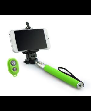 Selfie tyč combo zelená