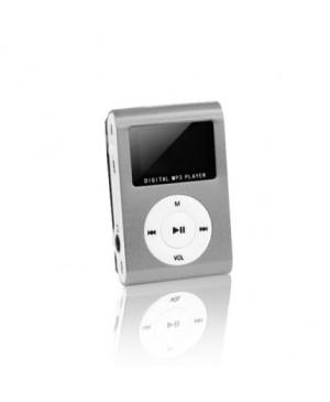 MP3 s LCD + slúchadlá SETTY strieborné