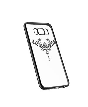 Silikónové puzdro Devia Iris pre Samsung S9 Plus gun čierne