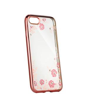 Silikónové puzdro Forcell Diamond pre Apple iPhone 11 Pro Max zlato ružové