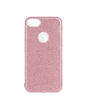 Silikónové puzdro Forcell Shining pre Apple iPhone 6 6s ružové