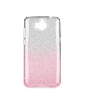 Silikónové puzdro Forcell Shining pre Huawei Y5 2018 ružové