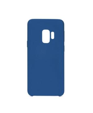 Silikónové puzdro Forcell Silicone pre Samsung Galaxy S10 tmavomodré