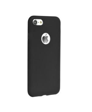 Silikónové puzdro Forcell Soft pre Apple iPhone 6/6s čierne