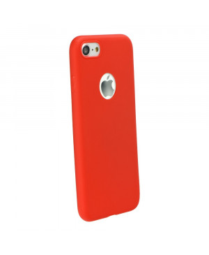 Silikónové puzdro Forcell Soft pre Apple iPhone 7/8 červené