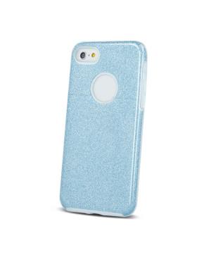 Silikónové puzdro Glitter 3v1 pre Apple iPhone 7 Plus 8 Plus modré