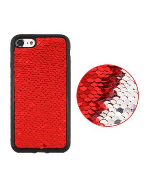 Silikónové puzdro Magic TPU pre Apple iPhone X červené