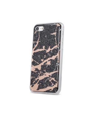 Silikónové puzdro Marmur pre Apple iPhone XR čierne