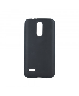 Silikónové puzdro Matt TPU pre Apple iPhone X/XS čierne