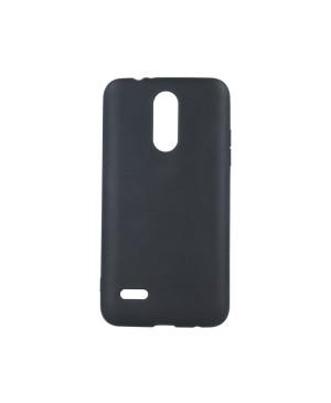 Silikónové puzdro Matt TPU pre Apple iPhone XR čierne