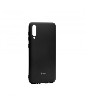 Silikónové puzdro Jelly Roar pre Samsung Galaxy A71 A715 čierne