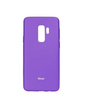 Silikónové puzdro Roar Colorful Jelly pre Samsung Galaxy S9 fialové