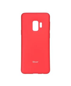Silikónové puzdro Roar Colorful Jelly pre Samsung Galaxy S9 ružové