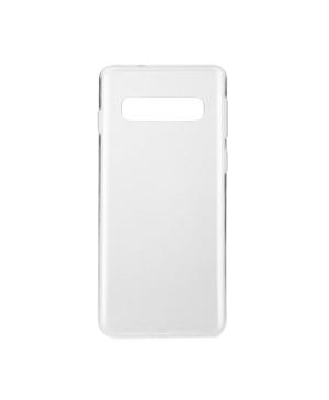 Silikónové puzdro Ultra Slim 0,3mm pre Samsung Galaxy S10 Plus transparentné