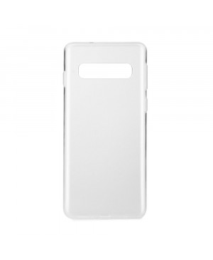 Silikónové puzdro Ultra Slim 0,3mm pre Samsung Galaxy S10 transparentné