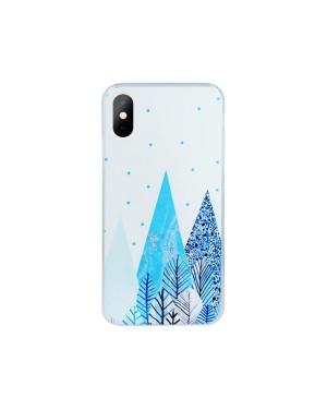 Silikónové puzdro Ultra Trendy Winter2 pre Samsung Galaxy J6 2018 zimný motív
