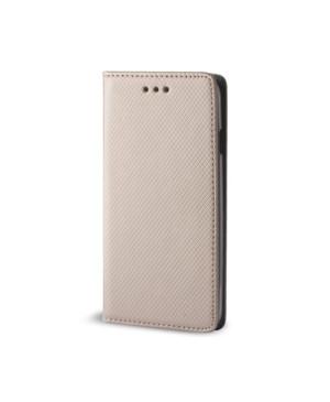 Diarové puzdro Smart Magnet pre Apple iPhone XS Max zlaté