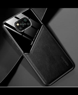 Silikónové puzdro na Xiaomi Poco X3 Metal Sheet čierne