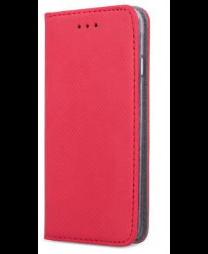 Diárové puzdro na Samsung Galaxy A20e A202 Smart Magnet červené