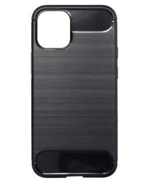 Silikónové puzdro na Apple iPhone 13 Forcell Carbon čierne