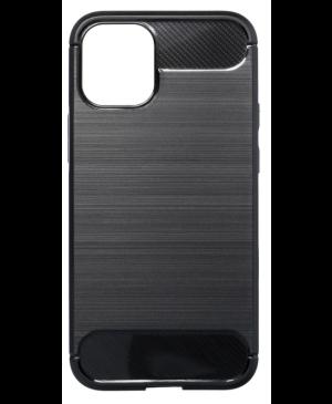 Silikónové puzdro na Apple iPhone 13 Pro Forcell Carbon čierne