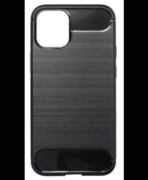 Silikónové puzdro na Apple iPhone 13 mini Forcell Carbon čierne