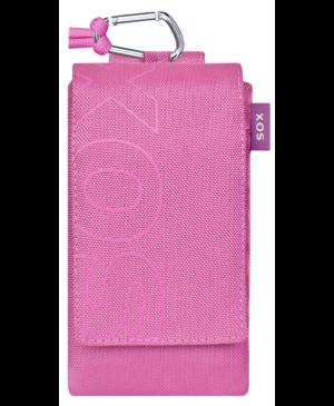 Univerzálne puzdro Uni Sox Color Blocks ružové