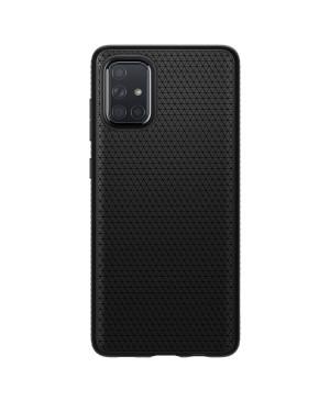 Silikónové puzdro SPIGEN Liquid Air pre Samsung Galaxy A71 čierne