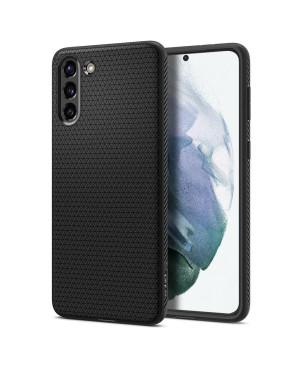 Silikónové puzdro na Samsung Galaxy S21 Spigen Liquid Air čierne