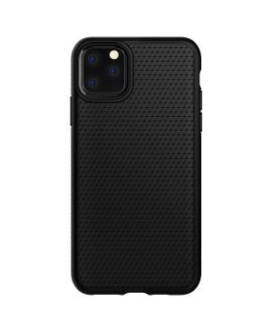 Silikónové puzdro SPIGEN Liquid Air pre Apple iPhone 11 čierne