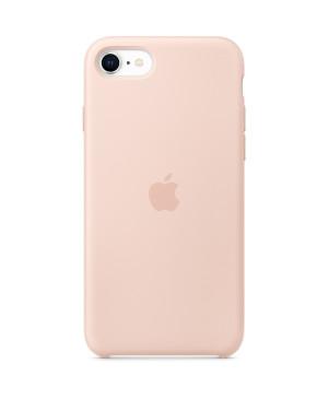 Originálne puzdrol Apple MXYK2ZM iPhone SE 2020 Silicone - Pink Sand