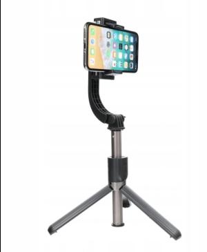 Selfie tyč so statívom a diaľkovým ovládaním Bluetooth Gimbal stabilizátor SSTR-L08 čierna