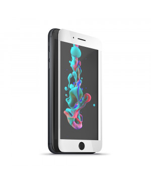 Tvrdené sklo 5D Forever pre Apple iPhone XS biele