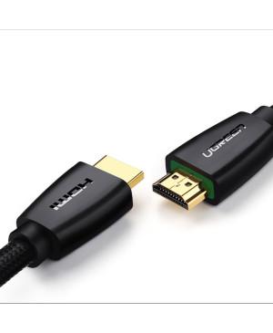 Kábel Ugreen HDMI 2.0 4K 60HZ 3D, 18Gbps - 1,5m - čierny