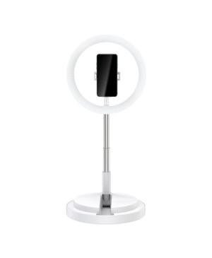 Selfie lampa USAMS Ring LED biela
