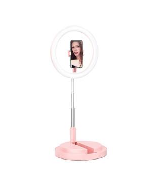 Selfie lampa USAMS Ring Led ružová