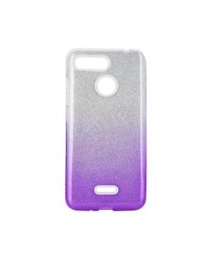 Silikónové puzdro Forcell Shining pre Xiaomi Redmi 8/8A fialové