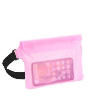 Vodeodolné puzdro pre mobilné telefóny ružové