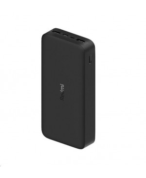 20000mAh Redmi 18W Fast Charge Power Bank (Black)