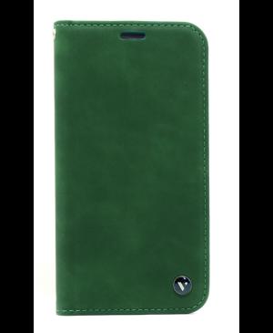 Diárové puzdro na Samsung Galaxy A51 Visko zelené