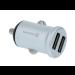 Autonabíjčka Swissten 2x USB 4,8A strieborná
