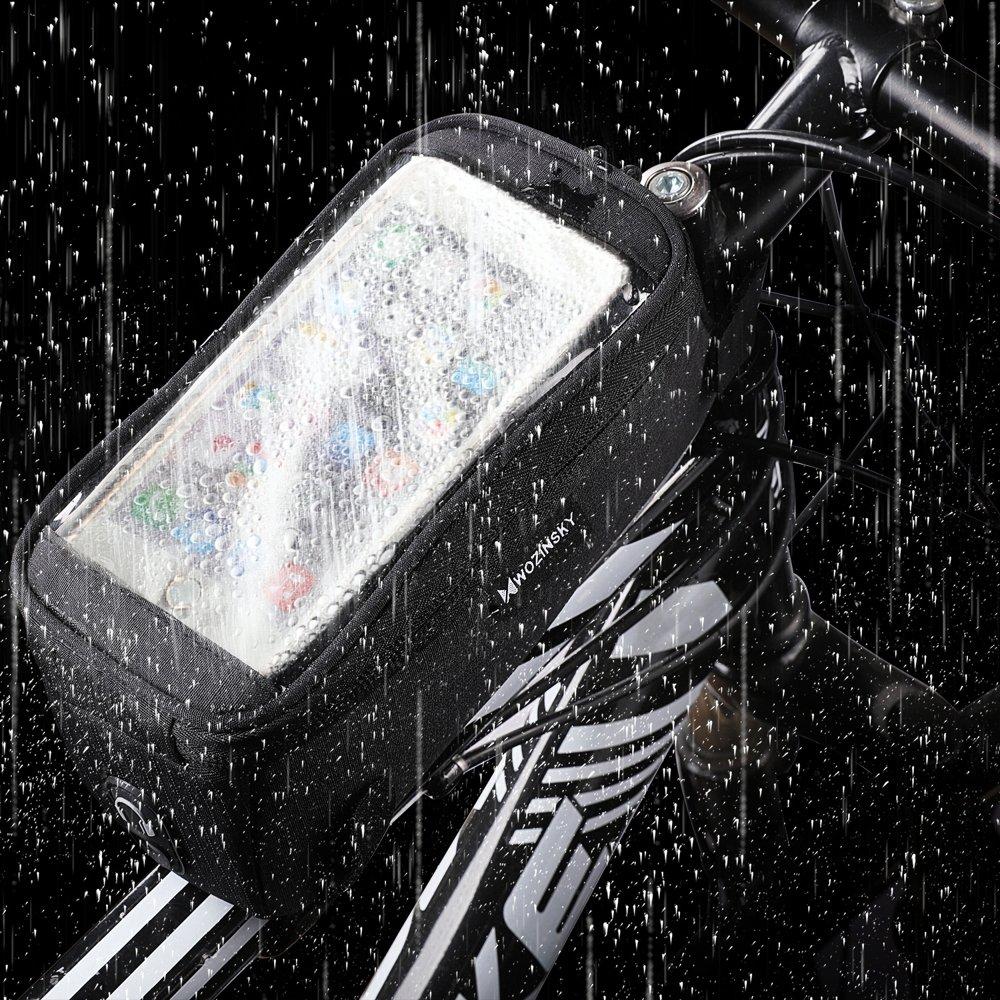 Držiak na bicykel s puzdrom