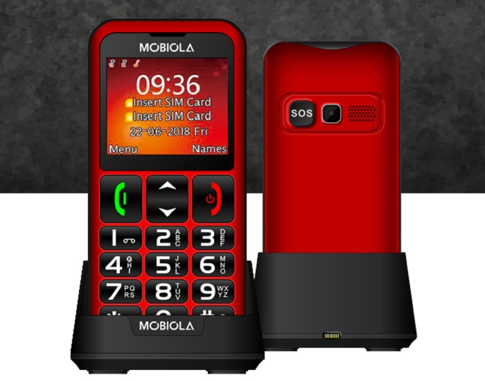 Mobiola MB700, Black - SK distribúcia