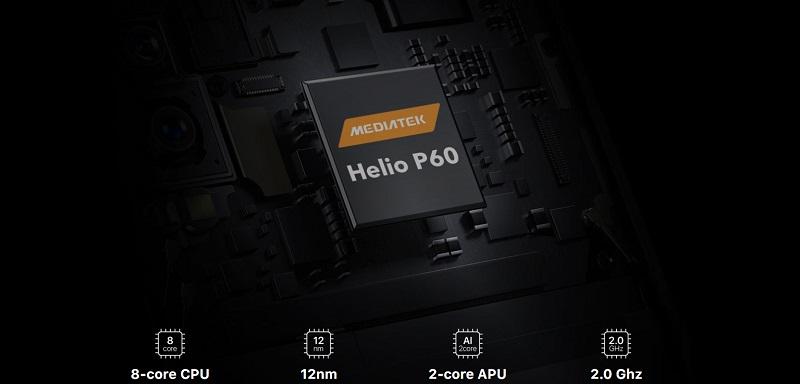 Umidigi F1, 4/128 GB, Dual SIM, Black - SK distribúcia