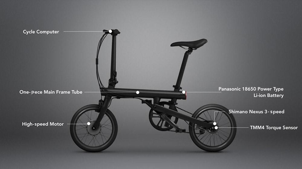 xiaomi Mi QiCYCLE folding electric bicycle